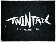 Twintail_clothing_co #logo #branding #clothing co