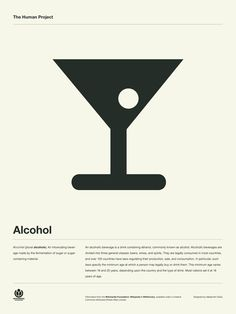 The Human Project Poster (Alcohol)