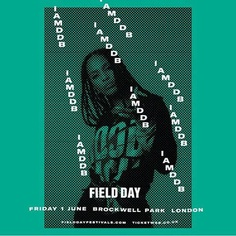"Field Day on Instagram: ""🔊 One of the hottest new acts of the year @iamddb joins the Field Day line up 🔥 Catch her alongside @erykahbadu, @earlxsweaat, @ajtracey…"""