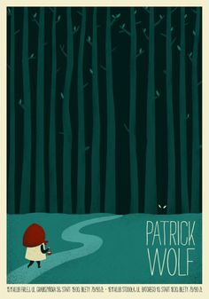 gigposters | vol. 2 on Behance #gig #illustration #poster #wolf #music #patrick #concert
