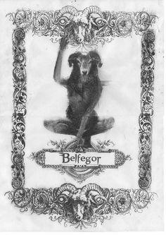 Bestiario Ilustrado - Belfegor - numanhoid #transfer #bipolartseis #numanhoid #belfegor