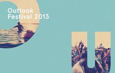 Outlook Festival 2013 on Behance #2013 #behance #outlook #festival
