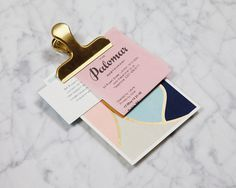 The Palomar #branding #stationary #gold #foil