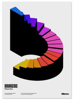Network Osaka > Portfolio > Bourgeois #modernism #colors #spectre #poster