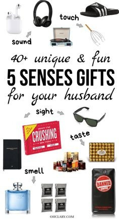 5 Senses Gifts for Husbands Who Love Unique and