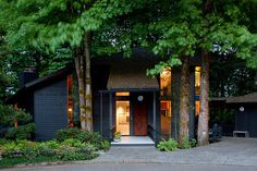 Delightful Modern Retreat in Portland, Oregon: Arboretum Residence #architecture #house