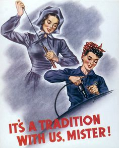 J.Howard Miller - It's A Tradition With Us, Mister! #art