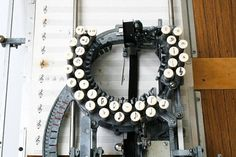 RARE Keaton Music Typewriter by jacksredbarn on Etsy #music #type #metal #machine