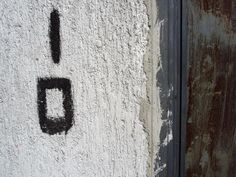 eyeone | seeking heaven #numerals #painted #design #signage #hand #typography