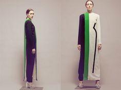Visual Illusion Through Textile by Emily Seul Ki Uhm #fashion
