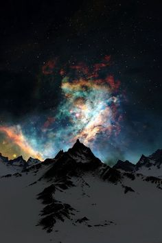 matttap3030 Feed - Tapiture #night #stars #mountains #sky