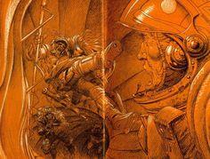 Sci-Fi-O-Rama / Science Fiction / Fantasy / Art / Design / Illustration #bilal #enki