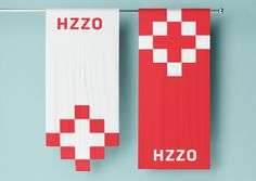 Croatian Institute for Health Insurance #branding #identity #flag #health #croatia