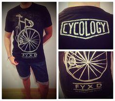 Bike T-shirt Design - Cycology #fashion #illustration #design #tshirt