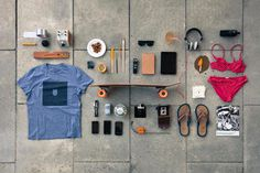 Skate Life #inspiration #creative #knolling #examples #photography #knoll #organization