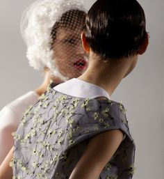 Fashion(Haute Couture Spring Summer 2013, via dior) #fashion