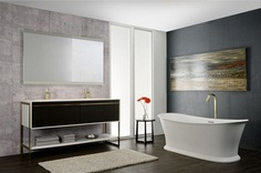 New Bathroom Furnishings Collection Inspired by Art Déco Age