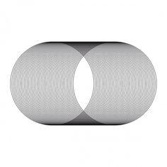 minimalvision 21 – In out #minimal #minimalism #geometric #circle #spiral #tube