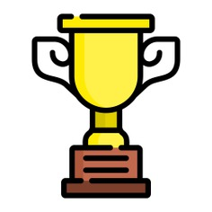 See more icon inspiration related to award, sports and competition, champion, winner, trophy and cup on Flaticon.