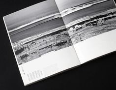 Book to record events during tsunami, Japan #japan #bood #book #monochrome #tsunami #layout #editorial #typography