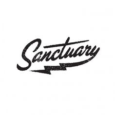 Factory Kids #script #hipster #logo #austin #lightning #sanctuary #type #typography