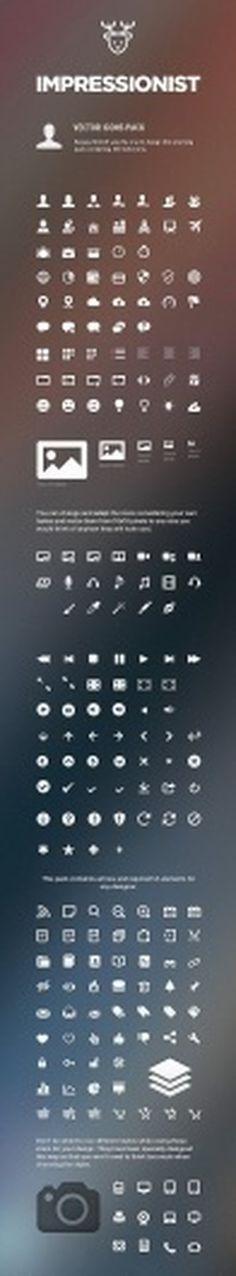 Impressionist UI - User Interface Pack - DesignModo #icons