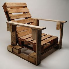 Garden Chair on Behance #wood #chair