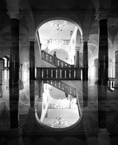 Surreal Double Exposure Analog Photography by Jeremie Dru