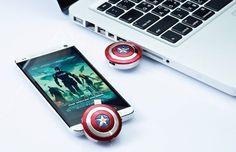 Captain America Shield Stick #usb #gadget