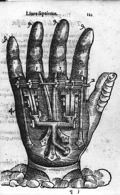 16th century Prosthetics (1564) | The Public Domain Review #hands