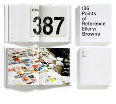 Documentation: On Jonathan Ellery's '136 Points of Reference' (posted on 11/3/12) #ellery #univers #browns