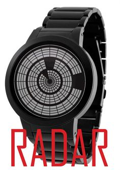 Radar LCD Watch