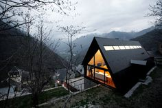 House at the Pyrenees