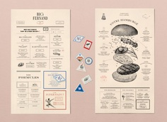 Impressive New Identity for French Burger Company 'Big Fernand'