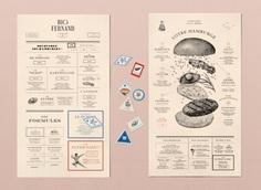 Impressive New Identity for French Burger Company 'Big Fernand'