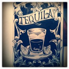 Design;Defined | www.designdefined.co.uk #banner #script #label #tequila