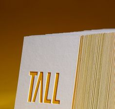 Tall Business Cards - Business Cards - Creattica #card #business