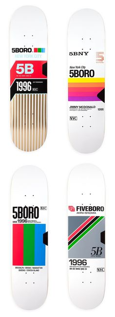 5BORO VHS Series #skateboards