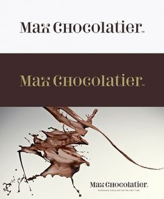 Corporate & Brand Identity - Max Chocolatier, Schweiz on the Behance Network #identity #typography