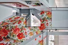 Artistic flowers interior #interior #artistic #penthouse #apartment #fun
