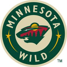 Minnesota Wild Logo - Chris Creamer's Sports Logos Page - SportsLogos.Net #logo #red #green #yellow #trees #moon #star #river #wild #sports