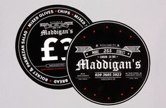 Maddigans Freehouse Identity