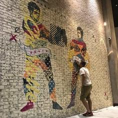"""""""OLD vs NEW"""" Mural 2018 www.KyleMosher.com"""