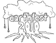 EarthFest 2010 #earth #tree #roots #sketch