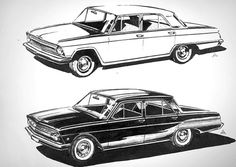 Volga concepts #illustration #car