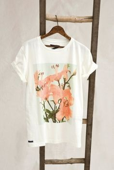 EIKNARF #design #flower #shirt #tee #fashion