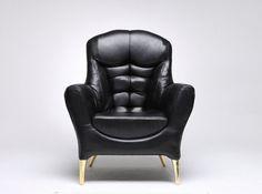 Deze patserige fauteuil is ontworpen door de... #chair