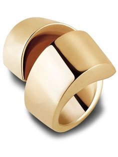 Vhernier ring #design #jewel #golden #gold #ring