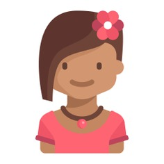 See more icon inspiration related to girl, child, young, avatar, user, kid, people and profile on Flaticon.