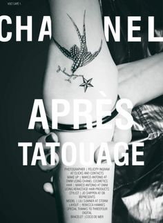 Après Tatouage | Volt Café | by Volt Magazine #tattoo #fashion #layout #editorial #beauty